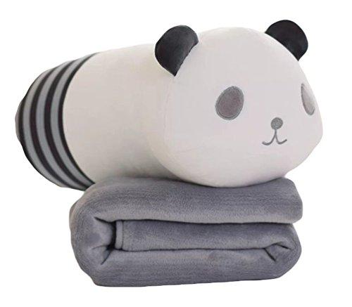Lovely Fruit Plush Blanket Cute Cartoon Velvet Doll Pillow Cushion Nap Car Sofa Bolster Air Conditioning Pillow Blanket 2 In 1 Batteries