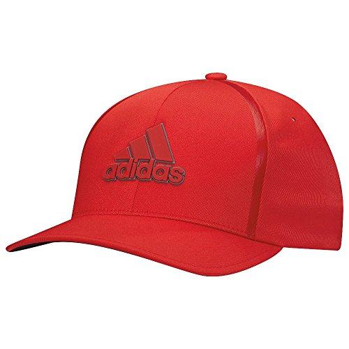 adidas Tour Delta Casquette de golf homme, Tour Delta, rouge, S/M