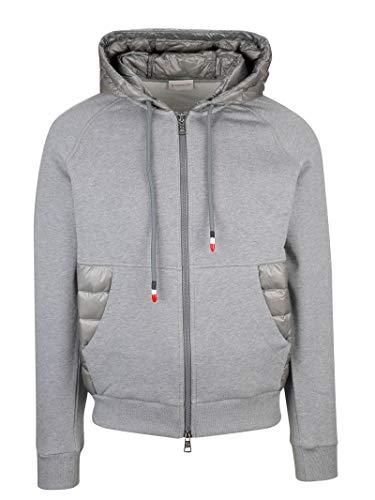 Moncler Herren 840060080985920 Grau Baumwolle Sweatshirt