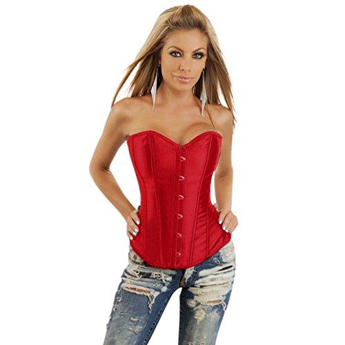 Binhee donna corsetto sexy modellante body contenitivi modellanti intimo