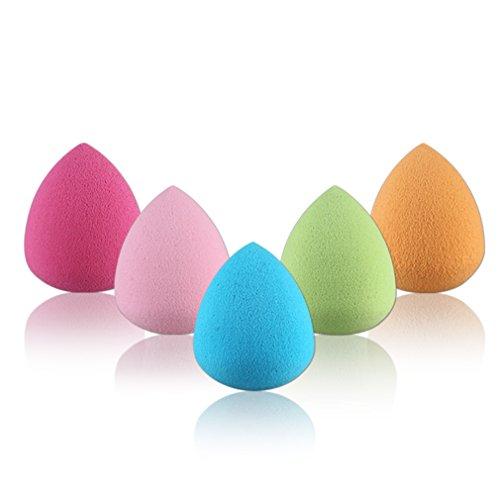 Gracelaza 5 pièces Blender éponge de maquillage, fond de teint Blush Estompeur Correcteur Yeux Visage Poudre Crème Maquillage sponges. sans latex, hypoallergénique et sans odeur #2