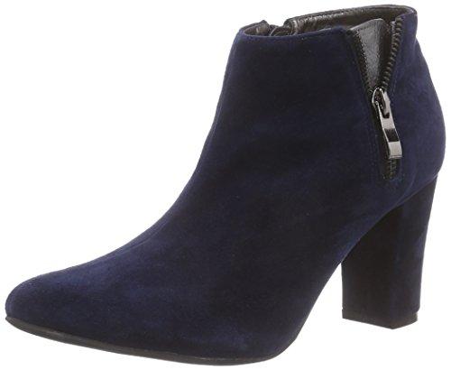 Andrea Conti1000672 - Stivali classici imbottiti a gamba corta donna , Blu (Blau (017)), 35