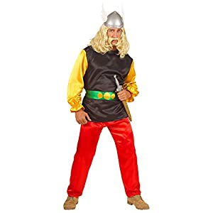 "Mens Gaul Satin Costume Small UK 38/40"" for TV Cartoon & Film Fancy Dress"