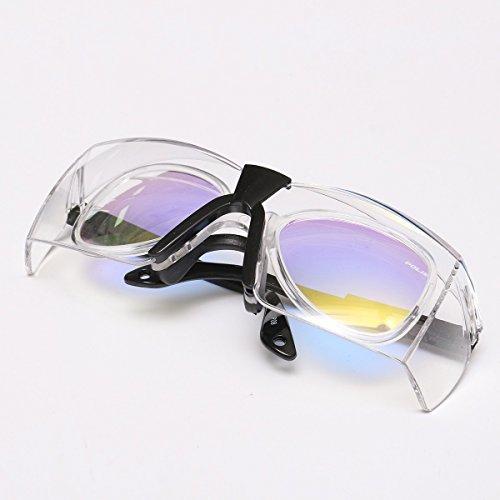 ChaRLes 10600Nm Professionelle Schutzbrille Brille Doppelschicht Fr Kohlendioxyd Co2-Laser