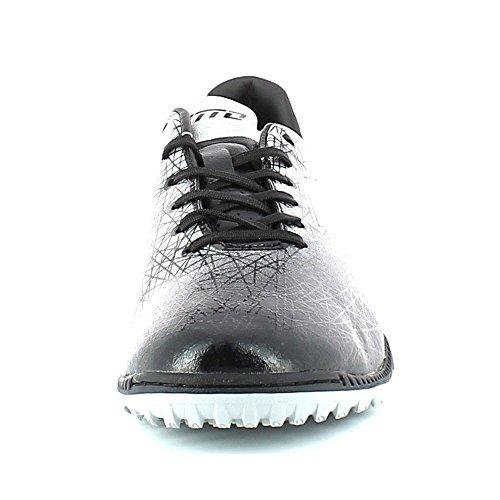 Lotto Viii blk Lzg De Wht Foot Homme 700 Lzg blk Blanco Negro Tf Chaussures 7738aa