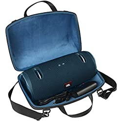 Étui de Voyage Rigide Housse Cas pour JBL Xtreme 2 Enceinte Bluetooth Portable Haut-Parleur par co2CREA(Bleu)