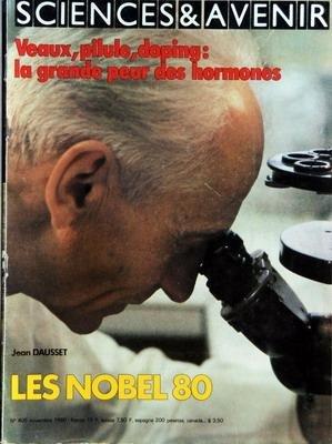 SCIENCES ET AVENIR [No 405] du 01/11/1980 - LES NOBEL 1980 - LA GRANDE PEUR DES HORMONES - VOYAGER 1 DECOUVRE SATURNE - LA FRANCE SANS ABRIS ANTI-ATOMIQUES - LA PECHE - SOUDURE TOUS AZIMUTS - TIERS MONDE - LES MATHEMATIQUES NON LINEAIRES - LES MALADIES INSCRITES DANS LES CHROMOSOMES - LA BOMBE ATOMIQUE - LE CARNAVAL DE LA PHYSIQUE PAR JEARL WALKER