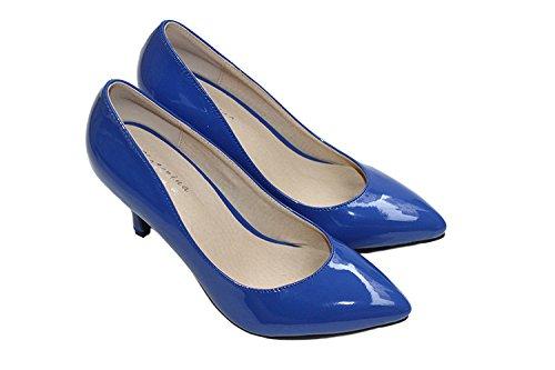 CFP , Sandales Compensées femme Bleu Marine