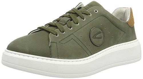 camel active Herren Platform 11 Sneakers Grün (army 01)