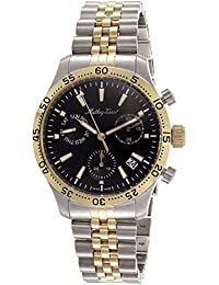 (Renewed) Mathey-Tissot Analog Black Dial Mens Watch - H1822CHBN