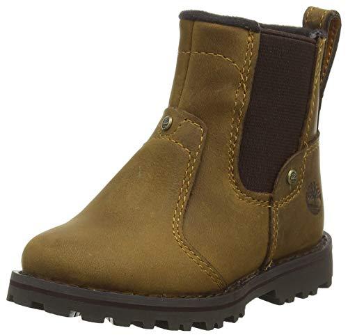 Timberland Unisex-Kinder Asphalt Trail Chelsea Boots, Braun (Medium Brown Full Grain P01), 21 EU -