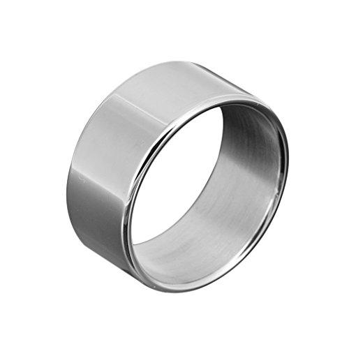 Preisvergleich Produktbild Timlatte Edelstahl Cock Ring Verzögerungsejakulation Penis-Ring-Metall Male Sex Ring Verzögerungs-Ring