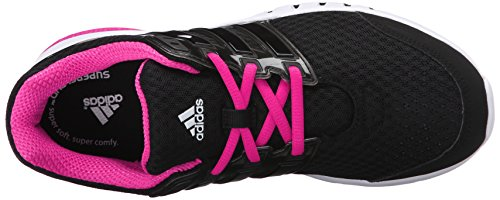 Adidas Performance Galaxy Elite W Running Shoe, noir / noir / rose choc, 5 M Us Black/Black/Shock Pink