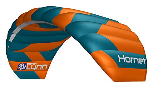 Lenkmatte Peter Lynn Hornet 2.0 mit Handles Allround-Lenkdrachen 4-Line Powerkite für Kitebuggy