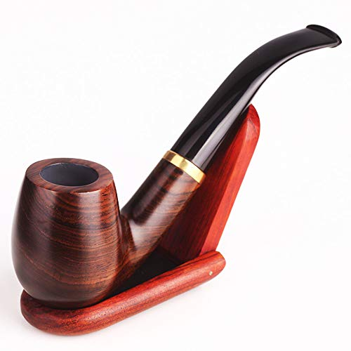 Tabakpfeifen-Kit Filter Typ Handgefertigten Rauchpfeife Full Bent Tabakpfeift