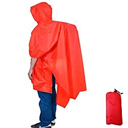 Aoneky Multifunctional Raincoat Waterproof Rain Jacket for Heavy Rain, Backpack Walkers, Riding Bike & Motorcycle, Music Festival & Halloween Costumes, Wheelchair ,Fishing, Camping, Hiking, Outdoors Emergency Shelter and Walk the dog from Aoneky