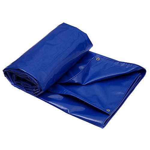 Blaue Vielseitige Wasserdichte Poly-Plane-Abdeckung, Hochleistungsplanen-Zelt-Zelt-Schutz-Camping (größe : 3M×3M)