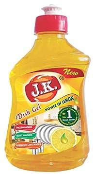 J.K. Lemon Dish Wash Gel (250ML)