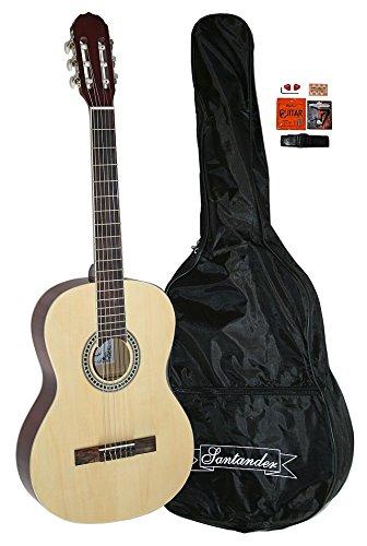 santander-4-4-size-acoustic-concert-guitar-set-with-bag-strap-capo-natural