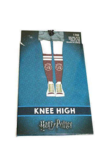 Harry Potter Platform 9 3/4 knwe high socks in packet