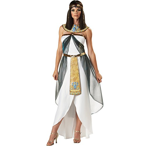 DLucc Halloween-Kostüme nach der griechischen Göttin Kleid Königin Kleopatra -Kostüm