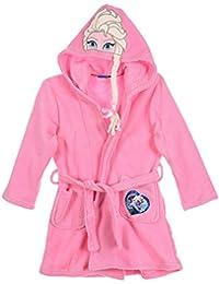 Robe de chambre - Peignoir fille La reine des neiges Rose et Bleu de 4 à 8ans