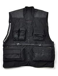 Multi-Pocket Männer Angeln Weste Reisenden Fotografie Jagd Quick-Dry Jacke Vest
