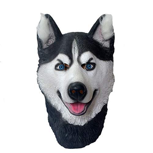 JHLD Halloween Maske Cosplay Halloween Kostüm Requisiten-Husky (Fett Kostüm Für Jungs)
