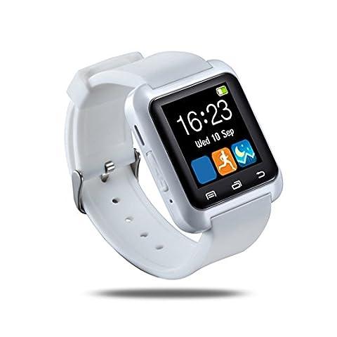 U8 Wasserdichte OLED Touch Screen Fitness Fitness Tracker Pedometer für IOS und Android Weiß