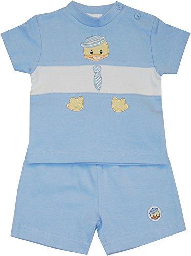 Schnizler Lucky Duck mit Bermuda und T-Shirt - Set De Vêtements Garçon, Bleu (original 900), 56 Schnizler