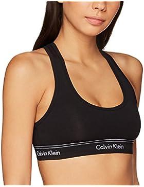 Calvin Klein Unlined, Sujetador Estilo Bralette para Mujer