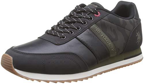 U.S. POLO ASSN. VANCE1 Camou, Sneaker Uomo, (Multicolore (Blk/Milg 036), 43 EU