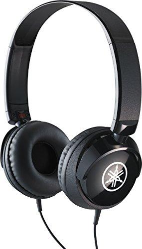 Yamaha HPH-50B Kopfhörer, schwarz - Schlichter On-Ear-Kopfhörer mit hochwertigem Sound - Kompaktes Design passend zu Yamaha Keyboards & Digital Pianos