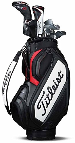 Titleist Midsize Staff Borsa da Golf, Unisex adulto, Bianco...