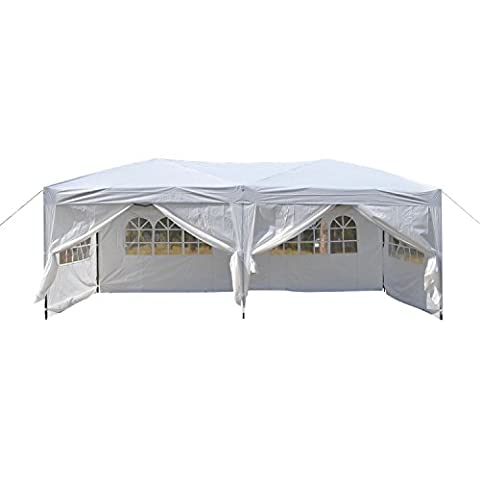 begorey 3 x 6M Waterproof Polyester Folding Tent, Outdoor Canopy