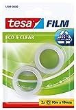 Cinta adhesiva ecológica tesa Eco & Clear (2 x 10 m x 19 mm)