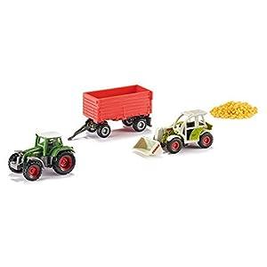 SIKU 6304 Preassembled Tractor Modelo de vehículo de Tierra - Modelos de vehículos de Tierra (Preassembled, Gift Set Agriculture, Tractor, Principiante, Multicolor)