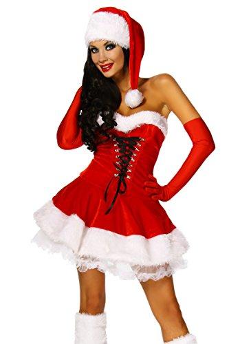 Amynetti Petticoatkleid Weihnachten (Kleider Sexy Weihnachten)