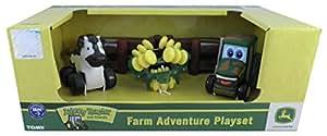Tomy John Deere - 37722AM6 - Véhicule Miniature - Les Aventures de Johnny et ses Amis
