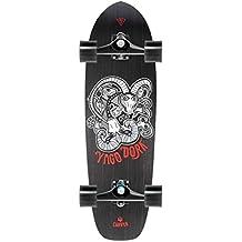 """Carver Skinny cabra completa Surf monopatín 33.75""""–CX. 4, negro"""