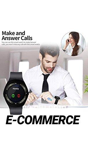 Zoom IMG-3 smart watch bluetooth smartwatch round