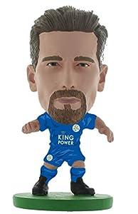 SoccerStarz SOC1305 Leicester Adrien Silva-Home Kit (Classic) /Figures, Green