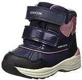 Geox Baby Mädchen B New Gulp Girl B ABX A Stiefel, Blau (Navy C4002), 24 EU
