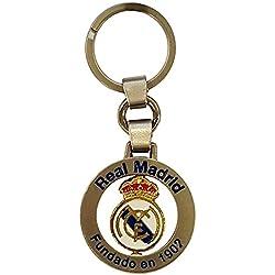 Real Madrid - Llavero giratorio escudo (llavero)