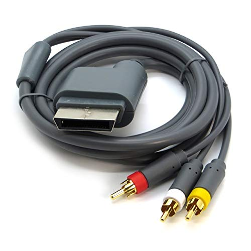 Childhood AV Cord cavo ottico Video Audio per Microsoft Xbox 360 console per videogiochi