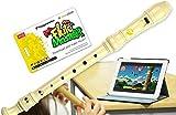 Flute Master (Lernsoftware) mit Blockflöte aus Kunststoff (deutsche Griffweise)