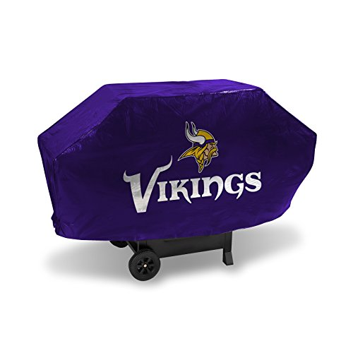 Unbekannt NFL Deluxe Grill Cover, BCB3103, Minnesota Vikings, 68-inches Wide x 21-inches Deep x 35-inches High - Viking Outdoor-grills