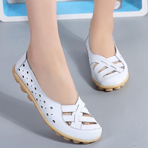 Clode®  Clode-bf-00105131, Ballet femme Blanc