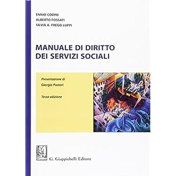 Manuale Di Diritto Dei Servizi Sociali
