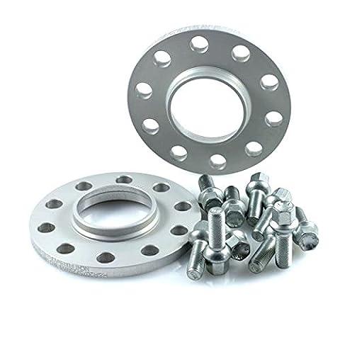 TuningHeads/H&R .0220355.DK.2455571.A6-S6-TYP-4F Spurverbreiterung, 24 mm/Achse + Radschrauben, 24